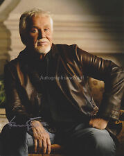 Kenny Rogers HAND SIGNED 8x10 Photo, Autograph, The Gambler, Ruby, Lady, Lucille