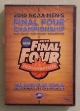 2010 NCAA MEN'S FINAL FOUR CHAMPIONSHIP duke mens DVD NEW shrinkwrap tears