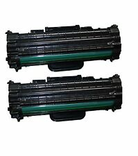 2x tóner para Samsung ml-1610 ml1610r ml2010 p r ml1615 ml1620 scx4521 f dell 1100