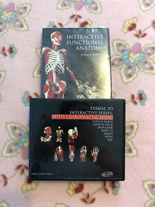 Primal 3D Interactive Series w/ Chiropractic Spine & New Functional Anatomy RARE