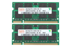 8GB Hynix 2X 4GB 4 GB DDR2-800MHz PC2-6400S 2RX8 200PIN SODIMM Laptop Memory RAM