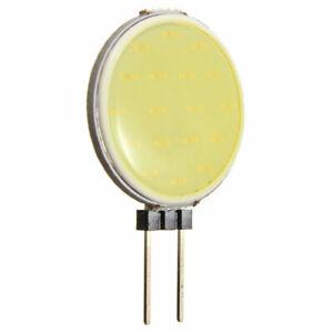 1pcs G4 5W LED Chip COB Light DC 12V Headlight Round Lamp Cool White SMD Bulb