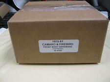 1970-81 CAMARO, FIREBIRD FRT. SHEET METAL HARDWARE KIT