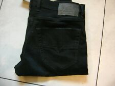 mens diesel tepphar designer jeans slim stretch fit, new with tags 34 w 32 leg