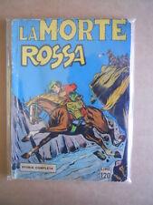 LA MORTE ROSSA Serie Olimpia N°6 1960 L.120 edizione ARDEA  [G502] Rarissimo!!