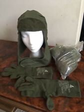 Original Vietnam Cold Weather Helmet Liner Gloves And Socks From Same Estate!