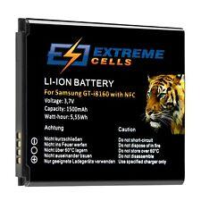 Extremecells Akku für Samsung Galaxy S3 mini GT-i8190 NFC Ace 2 i8160 Batterie