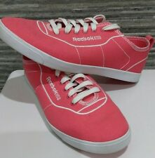 Ladies Reebok Princess Pink Canvas Trainers UK Size 7 EU 40.5