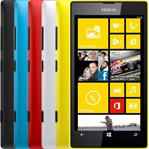 Nokia Lumia 520 - All Colours - UNLOCKED-Good