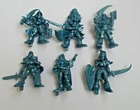 Set of 6 Amazon Girl Warrior Plastic Fantasy Toy Soldier 40 mm NEW Tehnolog