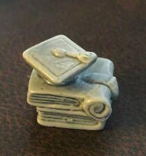 "Wade Miniature Figurines - Calandar Series - ""June"" Graduation Cap / Diploma"