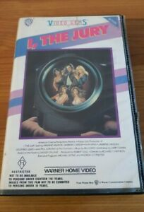 VHS. I THE JURY Original 1982 Warner Home Video, Ex Retail, Great Condition