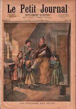New Year Gifts to Children Etrennes aux Enfants Paris France 1894 ILLUSTRATION