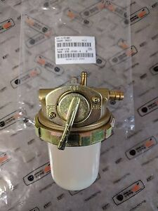 New Genuine OEM Kioti T4240-35017 Fuel Filter, Cup Base Assembly for DS and LK