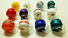 LOT OF 12 NFL MINI HELMETS - Possibly 1972 - Vintage Gumball Vending Machine Lot
