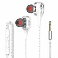 HIFI Super Bass Headset In-Ear Earphone Stereo Earbuds Headphone Wired with Mic