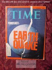 TIME Magazine September 1 1975 Sept Sep 75 EARTHQUAKES +++