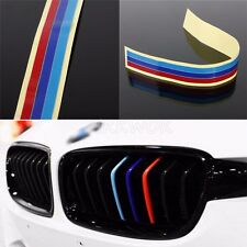 NEW BMW grill sticker M strip Vinyl badge decal fit M3 M5 E36 E46 E60 E90 E92