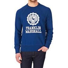 VETEMENT NEUF SPORT : Sweat Franklin & Marshall Bleur royal Taille L