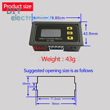 DC6-60V Solar Battery Charger Controller Module  Discharge Control US
