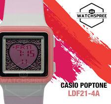 Casio Poptone Ladies Watch LDF21-4A