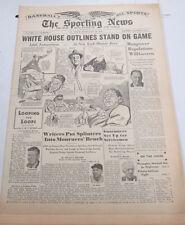 The Sporting News Newspaper  Bill Dickey  Yankees February 10,1944  101014lm-eB2