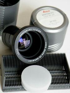 Projektionsobjektiv Leica Hektor-P2 2,8/85mm TOP Zustand OVP