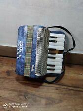 """jouet accordéon enfant plastique """" GABY """" vintage ancien instrument de musique"""
