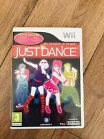 JUST DANCE...jeu Nintendo Wii Wii U En Bon État Avec Boîtier Fr