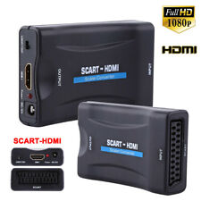 HD 1080P SCART to HDMI Composite Adapter Video Audio Converter PAL/NTSC DVD TV
