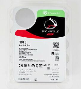 """Seagate IronWolf Pro ST10000NE0008 10TB 3.5"""" 7200RPM 256MB NAS Hard Drive"""