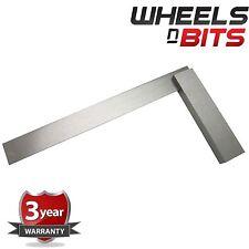 """6"""" Pollici Metallo D'acciaio Squadra Tecnica Ad Angolo Retto 90° Misurino Set"""