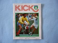 1977 VANCOUVER WHITECAPS DALLAS TORNADO KICK SOCCER FOOTBALL PROGRAM KEN COOPER