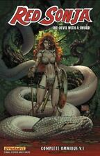 Red Sonja Omnibus Volume 1 (Red Sonja Omnibus Tp) by Carey, Mike, Oeming, Micha