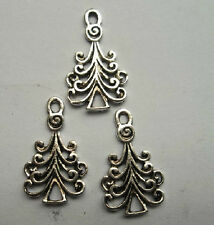 30pcs Tibetan silver beautiful pine pendant 14x23mm