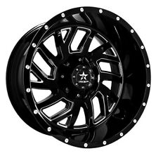 RBP 65R Glock 20x12 6x135/139.7 BP / 4.75 BS -44mm Offset 87mm CB Gloss Black M