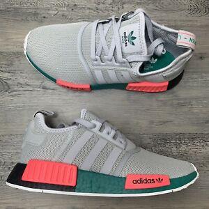 Men's Adidas NMD R1 Size 8 South Beach Grey Running Shoe FX4353