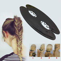 Magic Braid Hair Braiding French Braid Tool Roller Twist Styling Bun Maker~