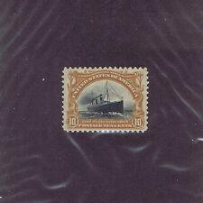 Sc# 299 Unused Og Lh 10 Cent Fast Ocean Navigation, 1901, Extra Fine.