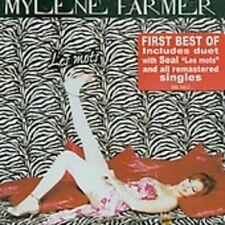 CD de musique mylène farmer avec compilation
