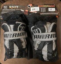 Warrior Riot Lacrosse / Hockey Gloves 12 Black (Brand New !)