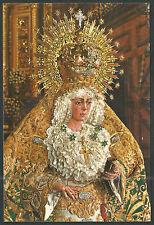 Postal de la Virgen de la Macarena andachtsbild santino holy card santini
