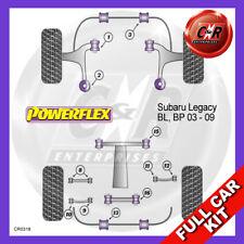 Fits Subaru Legacy BL, BP (2003 - 2009) Non Adjust Powerflex Complete Bush Kit