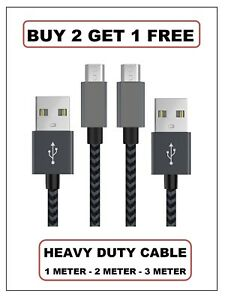 2M Micro USB Sync Charger Data Cable For AMAZON KINDLE FIRE & FIRE HD PAPERWHITE