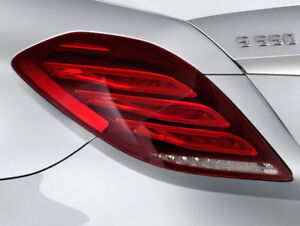 MERCEDES-BENZ S-CLASS S63 S65 AMG S550 LEFT TAIL LIGHT ASSMEBLY 14-17 GENUINE OE