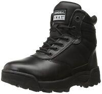 "Original S.W.A.T. 116401 Men's Classic 6"" Side-Zip Men's Boot - Black"