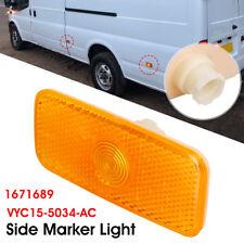 Side Marker Light Lamp Lens 1671689 For Ford Transit Jumbo MK7 06-14 MK6 00-06