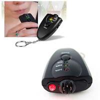 Useful Digital LCD Keychain Alcohol Analyzer Breath Tester Breathalyzer Tool
