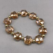 Vintage Glass Bead Bracelet Elastic Band