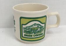 vintage Carrigdhoun pottery Irish coffee recipe graphics cup mug Cork Ireland